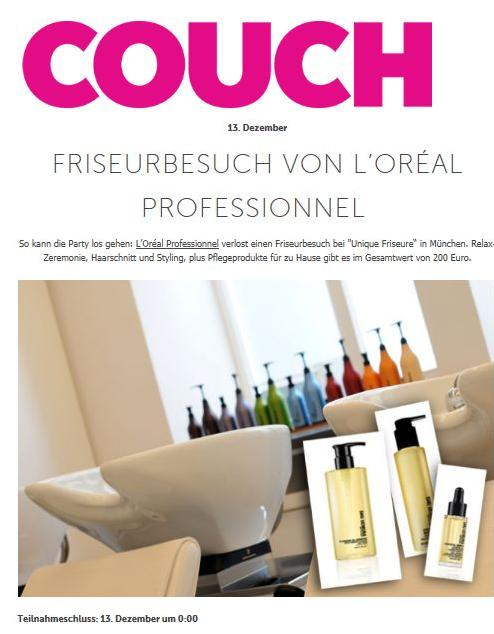 gewinnspiel von unique friseure aus m nchen. Black Bedroom Furniture Sets. Home Design Ideas